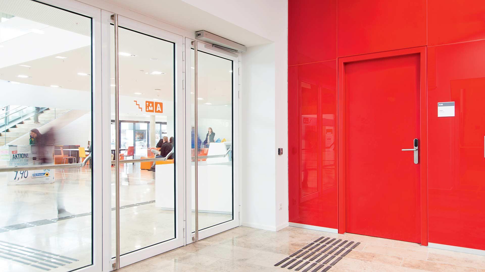 realizace ocelové zárubně a dveře společnosti HSE, spol. s r.o.