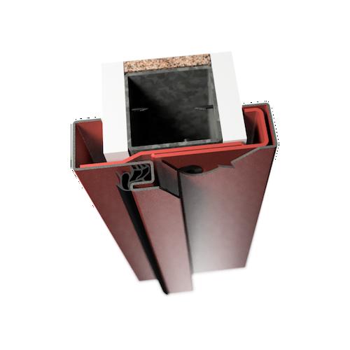 ocelová zárubeň HSE typ C-II obložková zárubeň