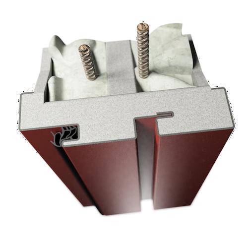ocelová zárubeň HSE typ DLZ dilatační zárubeň