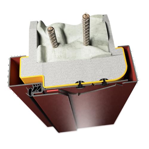 ocelová zárubeň HSE typ OZ obložková renovační zárubeň