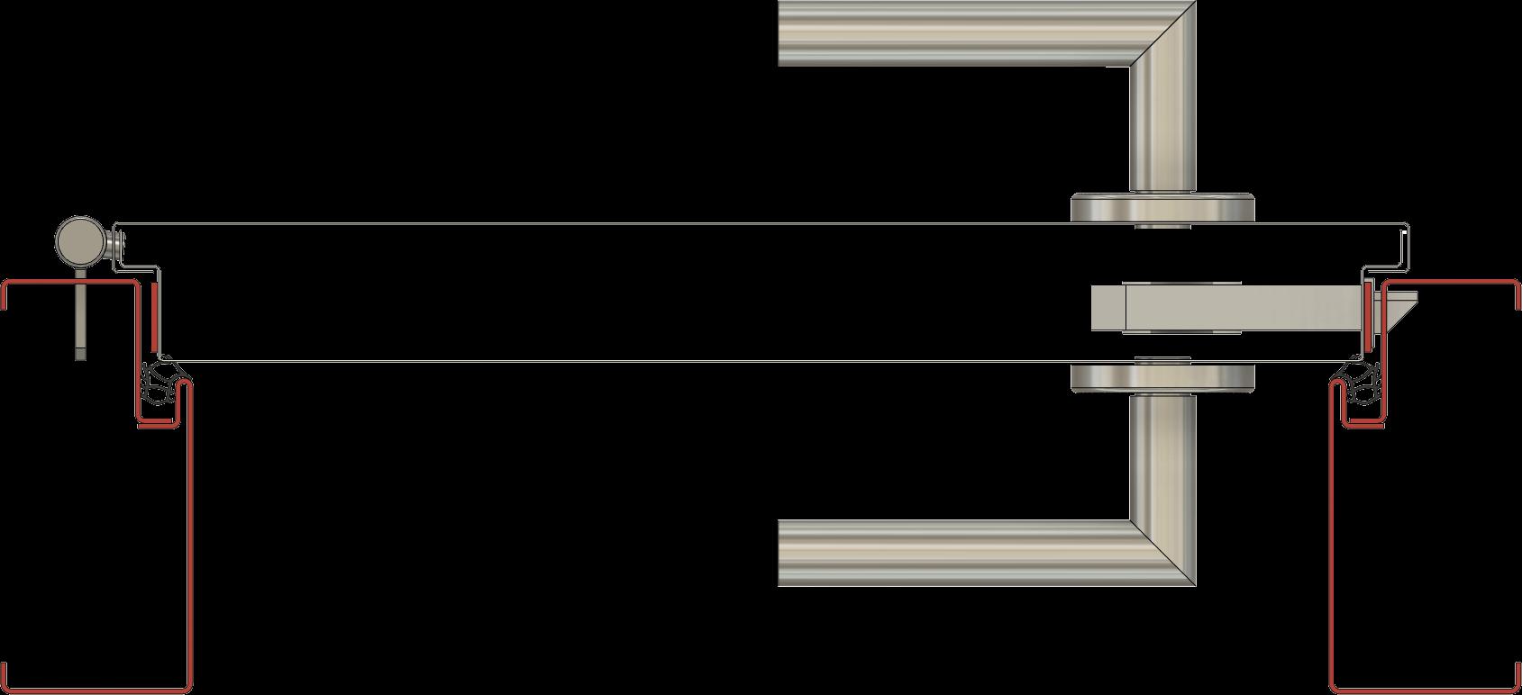 ocelové požarní dveře hse s polodrážkou