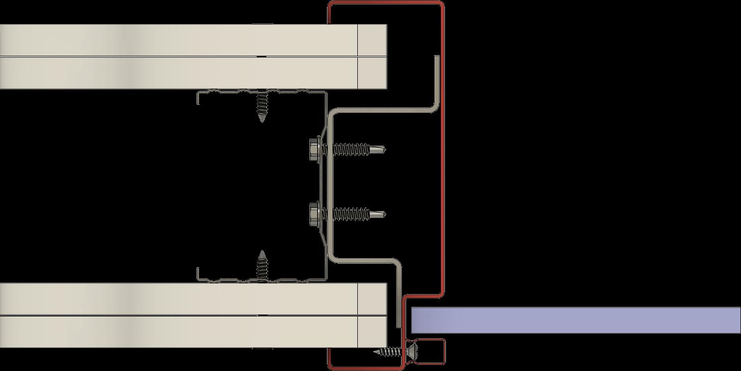 zasklívací profil HSE typ 10