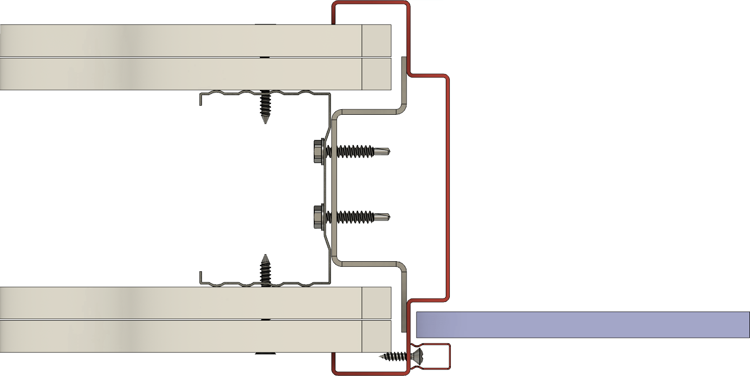 zasklívací profil HSE typ 11