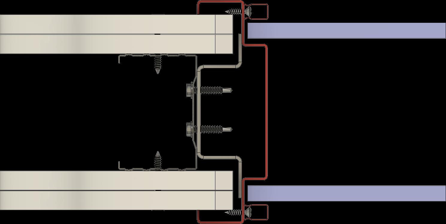 zasklívací profil HSE typ 12